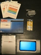 Nintendo 3DS XL Launch Edition Blue & Black Handheld System (SPR-S-BKAB)