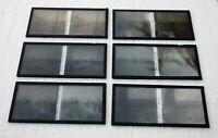 Six plaques verre 6 X 13 stéréoscopique le Havre années 1920