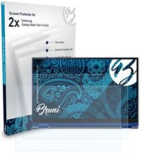 Bruni 2x Schermfolie voor Samsung Galaxy Book Flex 13 inch Screen Protector