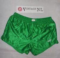 VINTAGE PUMA GLANZ  NYLON short Shorts GR D8 , XL