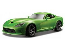 Maisto 1:18 Dodge Viper GTR 2013 SRT Green 31128G Special Edition.