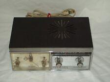 """""""Vintage"""" General Electric Transistor Radio Alarm Clock ~ Working Condition"""