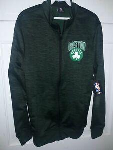 Boston Celtics  basketball fleece Full-Zip Jacket NBA shirt NEW ~ Small - S