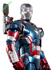HOT TOYS IRONMAN 3 III IRON PATRIOT DON CHEADLE DIECAST 1/6 READY IN STOCK PROMO
