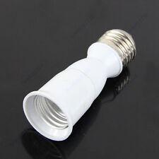 New E27 to E27 Extension Socket Base CLF LED Light Bulb Lamp Adapter Converter
