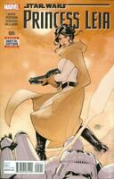 Star Wars Princess Leia #5  Marvel Comic 1st Print  2015 New NM