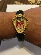 Vintage 1997 Armitron Looney Tunes Taz Tasmanian Devil Quartz women Watch
