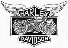 'Harley Davidson' XL (XXL) Tshirt: cotton USA Fruit of the Loom/Russell t'shirts