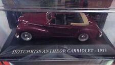 "DIE CAST "" HOTCHKISS ANTHEOR CABRIOLET - 1953 "" AUTO FRANCESI SCALA 1/43"