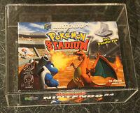 Pokemon Stadium Nintendo 64 N64 UK PAL ✔ NEW SEALED GRADED✔ COLLECTORS CONDITION