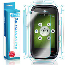 2x iLLumi AquaShield HD Front Screen + Back Panel Protector for Pantech Vybe