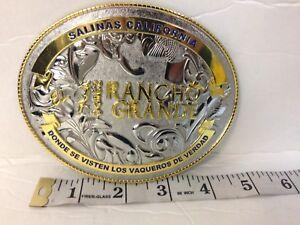 "Custome Belt Buckle Gold/silver 5""x4""Western Buckle-Fits Any1.5""-2.25"" Wide Belt"