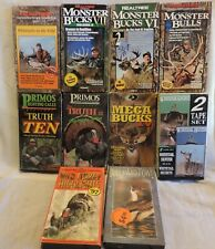 10 Vhs Hunting Videos Realtree Primos Mossy Oak Deer Hunting and more