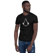 Assassins Creed Symbol logo metal Short-Sleeve Unisex T-Shirt