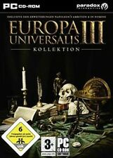 EUROPA UNIVERSALIS 3 III + 2 ADDONS KOLLEKTION NEU