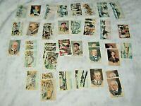 44 x Vintage Atlantic Petroleum Australian in the 20th Century Trading Cards