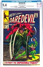 Daredevil #32 Marvel Comics 1967 - Cgc 9.4 Nm Ow/W Pages - Cobra & Mister Hyde