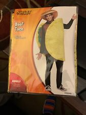 Beef Taco Costume by Spirit of Halloween - One Size Fits Most