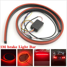1M Lamp strip 144LED 3030 Flexible Strips Car Rear Dynamic Streamer Brake Light