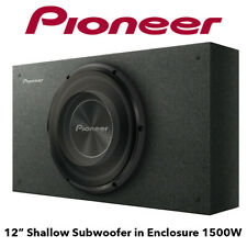 """Pioneer TS-A3000LB - 10"""" Shallow Subwoofer in Enclosure 1500W Bass Subwoofer"""