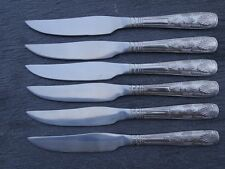 BRAND NEW Steak Knives King's Pattern Cutlery x 6 stainless steel