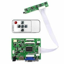 "HDM I VGA 2AV LCD Controller Board for 8""  HJ080IA-01E 1024x768 IPS LCD Screen"