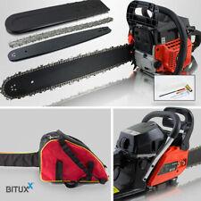 BITUXX® Benzin Kettensäge Motorsäge Motorkettensäge 58ccm 3,6PS mit 50cm Schwert