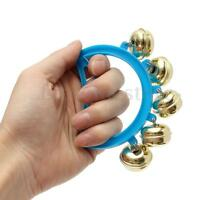 Baby Hand Shaking Bell Musical Instrument Rattle Handbell Kids Educational Toy