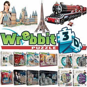 Wrebbit 3D Jigsaw Puzzle - Harry Potter, Hogwarts, Game of Thrones & Castles