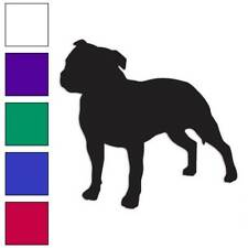 Staffordshire Bull Terrier Decal Sticker Choose Color + Large Size #lg2016