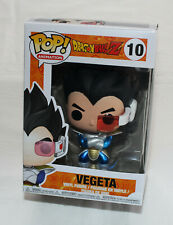 Dragon Ball Z Vegeta Metallic Funko Animation #10 Pop! Vinyl Figure New