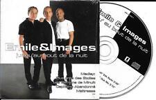 CD CARTONNE CARDSLEEVE EMILE & IMAGES JUSQU'AU BOUT DE LA NUIT 2T DE 1999 RARE