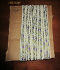 9 yards White lavender Purple Green Woven sewing trim ribbon 3/8