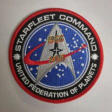 Star Trek Starfleet Command Ufp Patch - 50 Years -Usa Mailed (Stpa-5001)