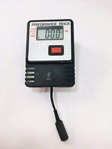 Nordic Track Ski Machine Performance Track Monitor Computer 1995 Tested Works