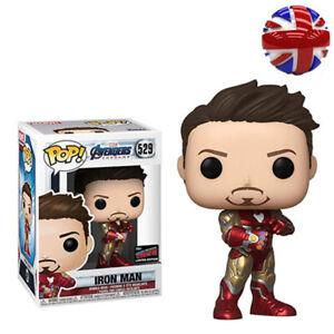 FUNKO POP Marvel Avengers:Endgame Tony Stark Iron Man 529 Action Figure Toys