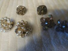 Vintage Items; Earrings and Cufflinks