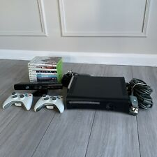 120GB Xbox 360 Console With Kinect And 10 Games