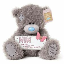 "Me to You 9"" with Mum Plaque Plush - Tatty Teddy Bear"