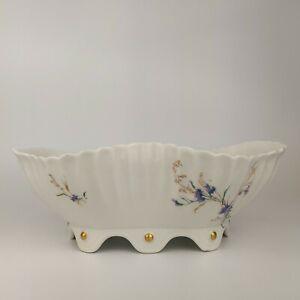 Antique HAVILAND & Co LIMOGES French Porcelain Fruit Bowl Basket Tureen c1870s