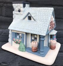 Partylite Village Bakery House Cottage Tealight candle holder Christmas Retired