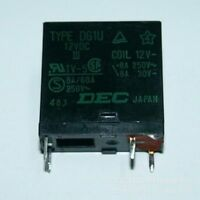 5pcs ORIGINAL DEC DU1PU 12VDC 12V DC 16A Relay #xy-ah