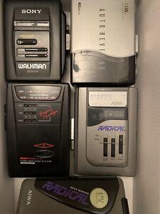 4x Sony, Aiwa Walkman