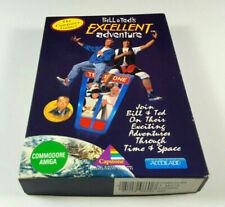 Bill & Tedds Excellent Adventure ~ Amiga Spiel Big Box OVP VGC + VHS Insert Rare