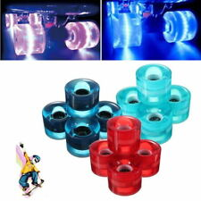 LED Flash Glow Cruiser Skateboard Wheel For Street Skate Banana Adults