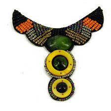Patch Sewing bag Decoration Inca Kuchi Afghan Banjara Tribal beads AF90