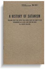 A History of Satanism: How the Devil was Born by Joseph McCabe (Haldeman-Julius)