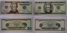 2001 & 2004 $20 Designs In Motion Matching Serial Number Set Dallas SN#00006122