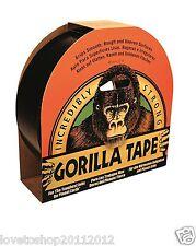 Gorilla Glue Black Tape 32M X 48 MM Roll Strong Duct Gaffer Tape