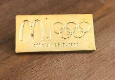 McDonald's London 2012 Gold Rings Olympic Pin
